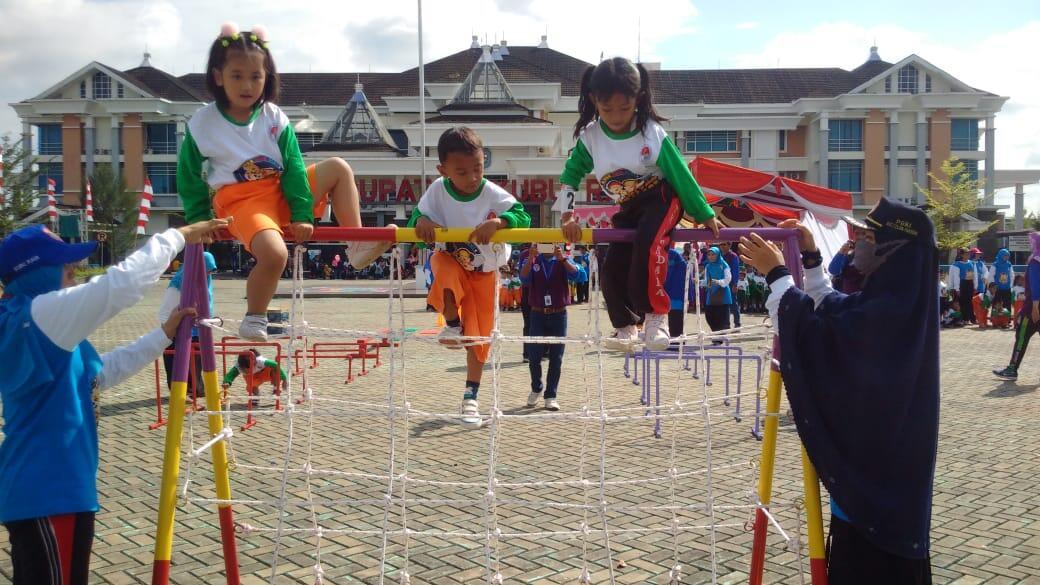 Festival Olahraga Anak Usia Dini di Kubu Raya Digelar