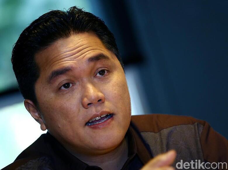 Erick Thohir: Survei Naik Turun Biasa, Seperti Harga Sembako