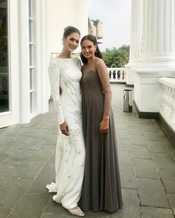 Bak Kakak Adik, 10 Kedekatan Paula Verhoeven & Nadine Chandrawinata