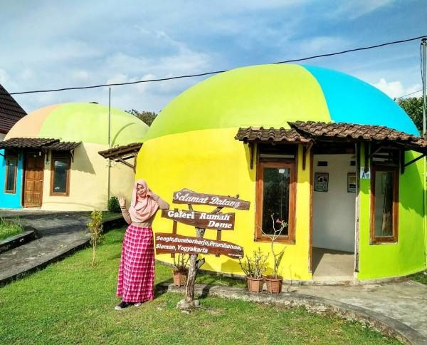 10 Potret Cantik RumahTeletubbies di Yogyakarta, Instagramable Abis!