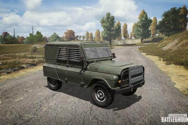 11 Jenis Kendaraan Darat yang Ada di PUBG, Sudah Tahu Belum?
