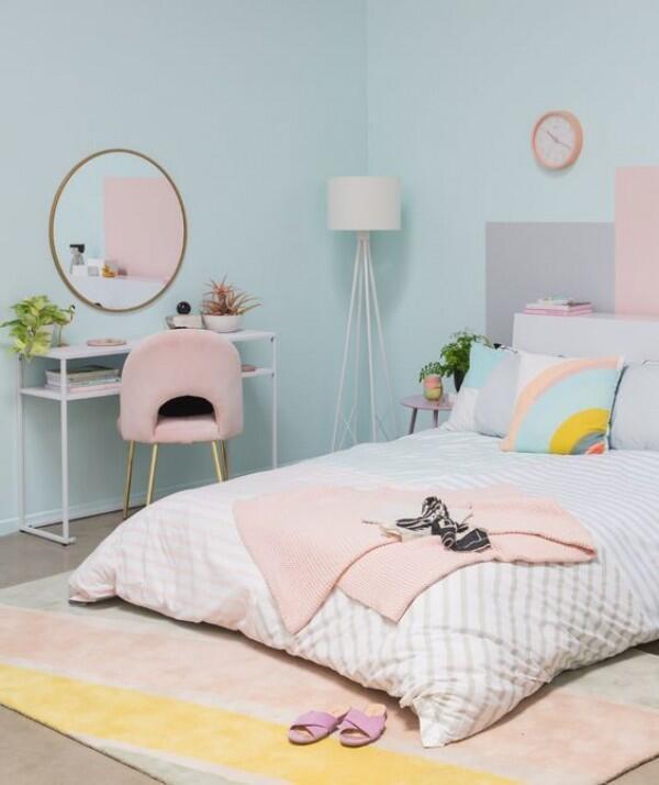 10 Desain Kamar Kos Bertema Pastel, Bikin Setiap Sudut Instagramable!