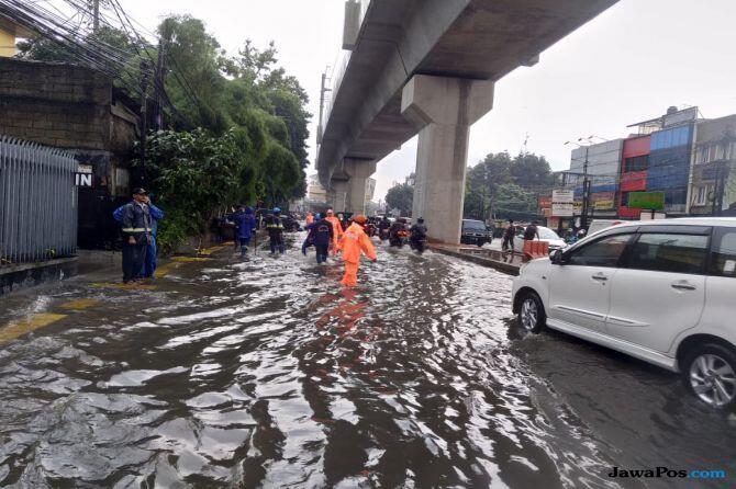 Walkot Hanya Berdoa, Hujan Sebentar Jaksel Sudah Tergenang