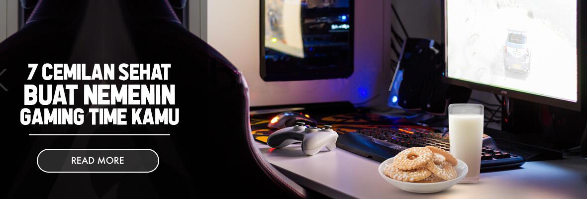 7 Cemilan Sehat Buat Nemenin Gaming Time Kamu