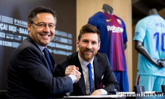 Kontrak Baru Messi Bikin Barcelona Jadi Tim Paling Boros di Dunia