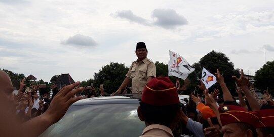 Prabowo: Pilih Segelintir Orang Tambah Kaya atau Kekayaan Dinikmati Rakyat?