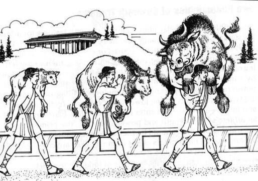 Milo dari Croton, Atlet Yunani Kuno yang Latihan Beban Pakai Lembu
