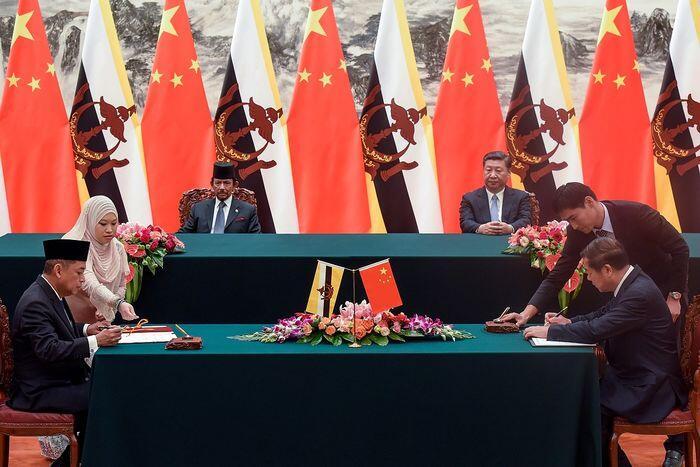 Buntung di minyak, Brunei cari untung dari Tiongkok