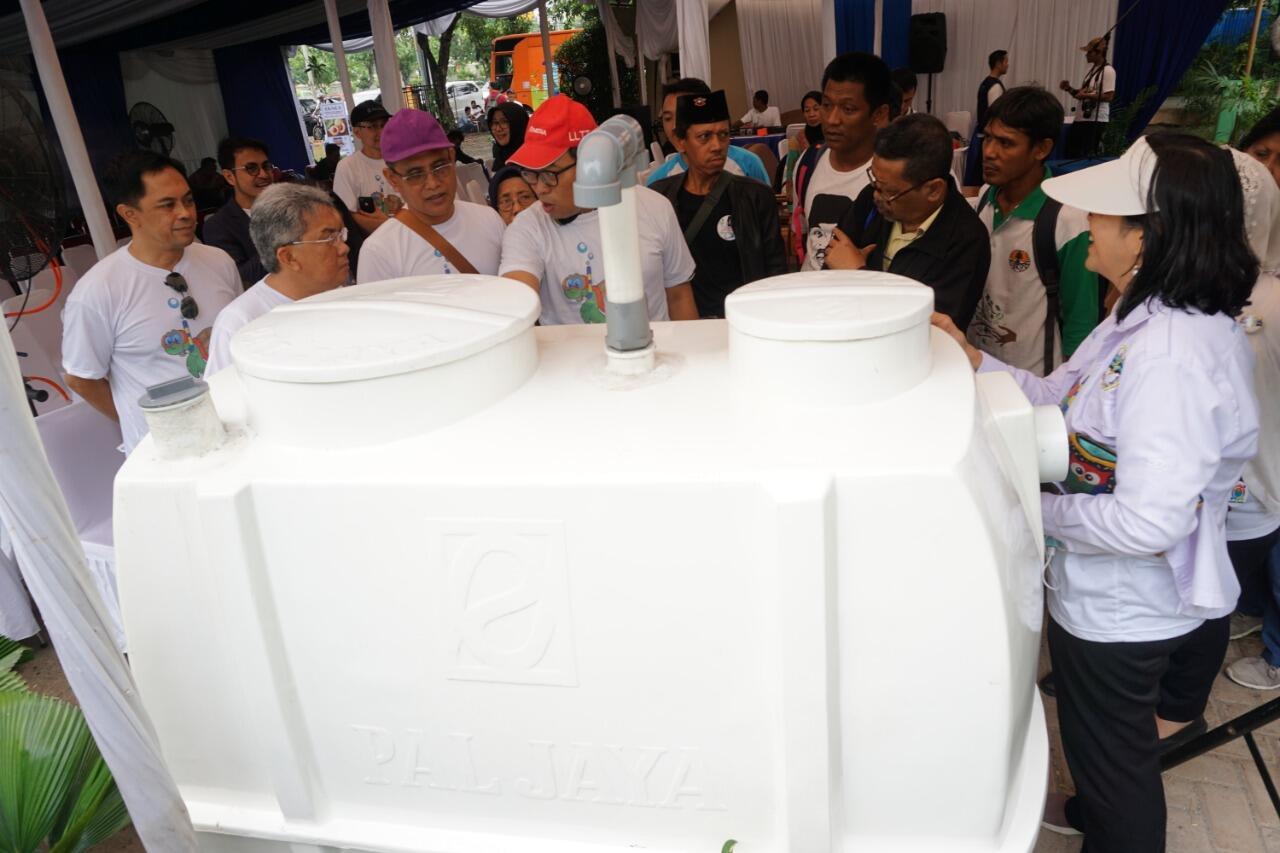 Pantauan KLHK Tunjukkan Adanya Perbaikan Kualitas Ciliwung