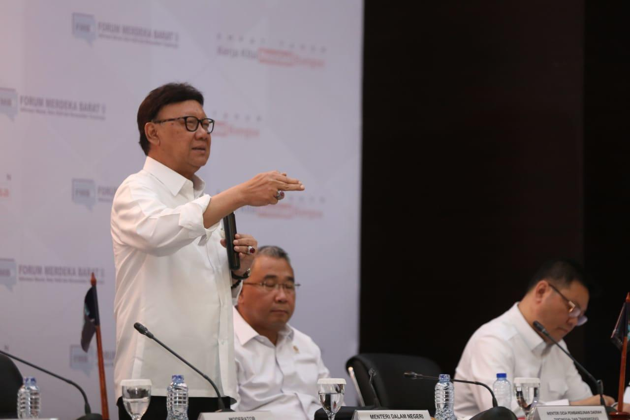 Kemendagri Miliki Kewenangan Evaluasi Pemerintahan Daerah