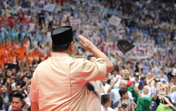 Soal Korupsi di Indonesia, Prabowo:Seperti Kanker Stadium Empat