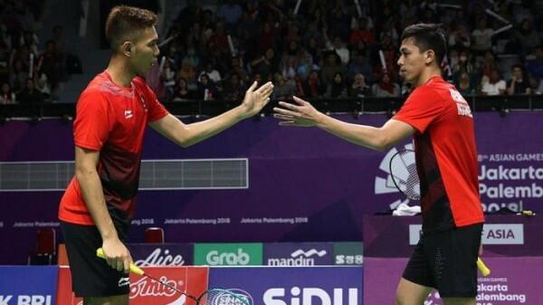 Kelelahan, Fajar/Rian Terhenti di Babak Pertama Korea Masters 2018