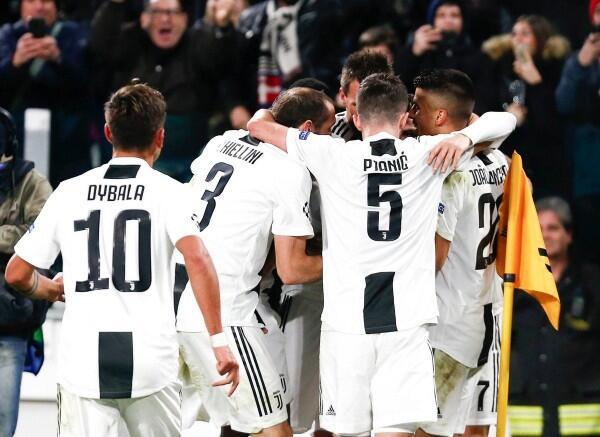 Liga Champions: Bertabur Kartu Kuning, Juventus Kalahkan Valencia 1-0