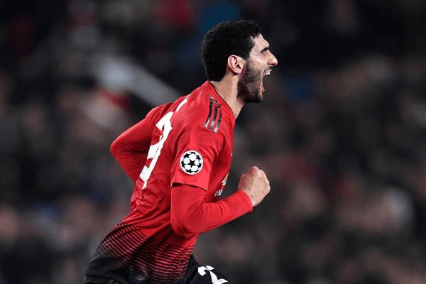 Fellaini Bawa Manchester United Lolos Babak 16 Besar Liga Champions