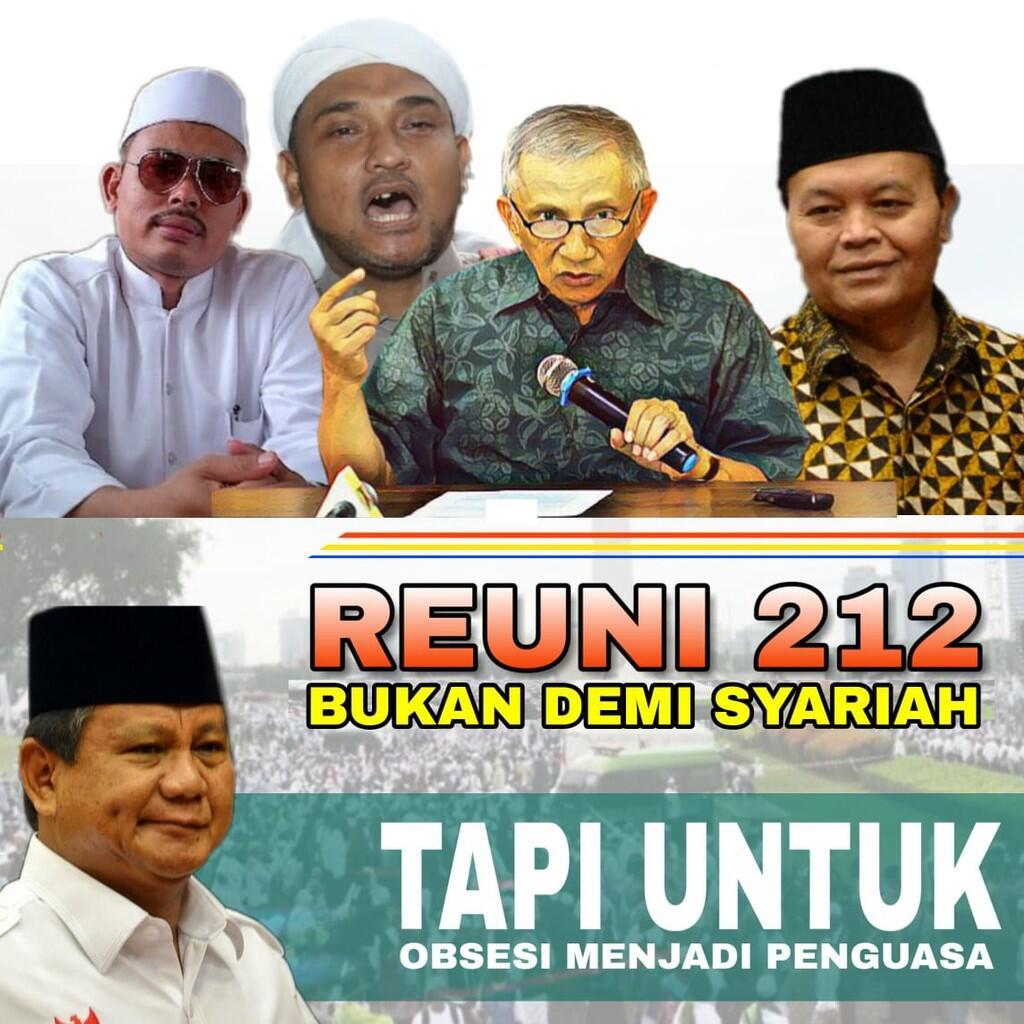 Seruan Kosong HRS dan Kepentingan Politik di Balik Reuni 212