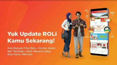 Aplikasi RoLi Sekarang Ngasih Kuota Internet Gratis Setiap Hari! Download Sekarang!!