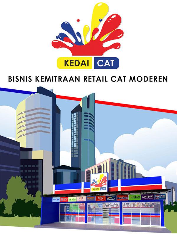 [PELUANG BISNIS RETAIL] Bisnis Kemitraan Penjualan Cat dengan brand KEDAICAT