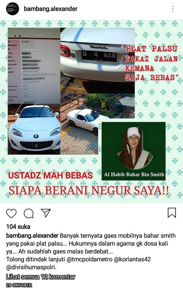 PKS Tak Percaya Kebenaran Video Habib Bahar yang Sebut Presiden Jokowi Banci