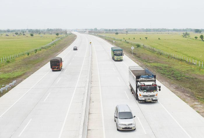Pemudik bisa nikmati jalan tol Jakarta-Surabaya pada akhir 2018