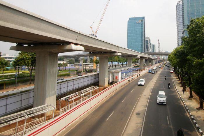 3 Jalan layang di Jakarta akan dibangun tahun depan