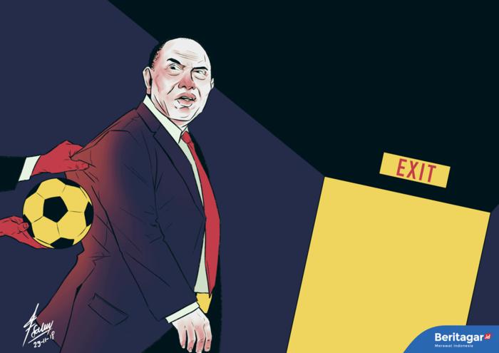 Problem sepak bola nasional bukan sekadar soal Edy Rahmayadi