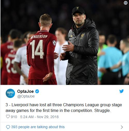 Liverpool si Jago Kandang harus kalahkan Napoli jika ingin lolos
