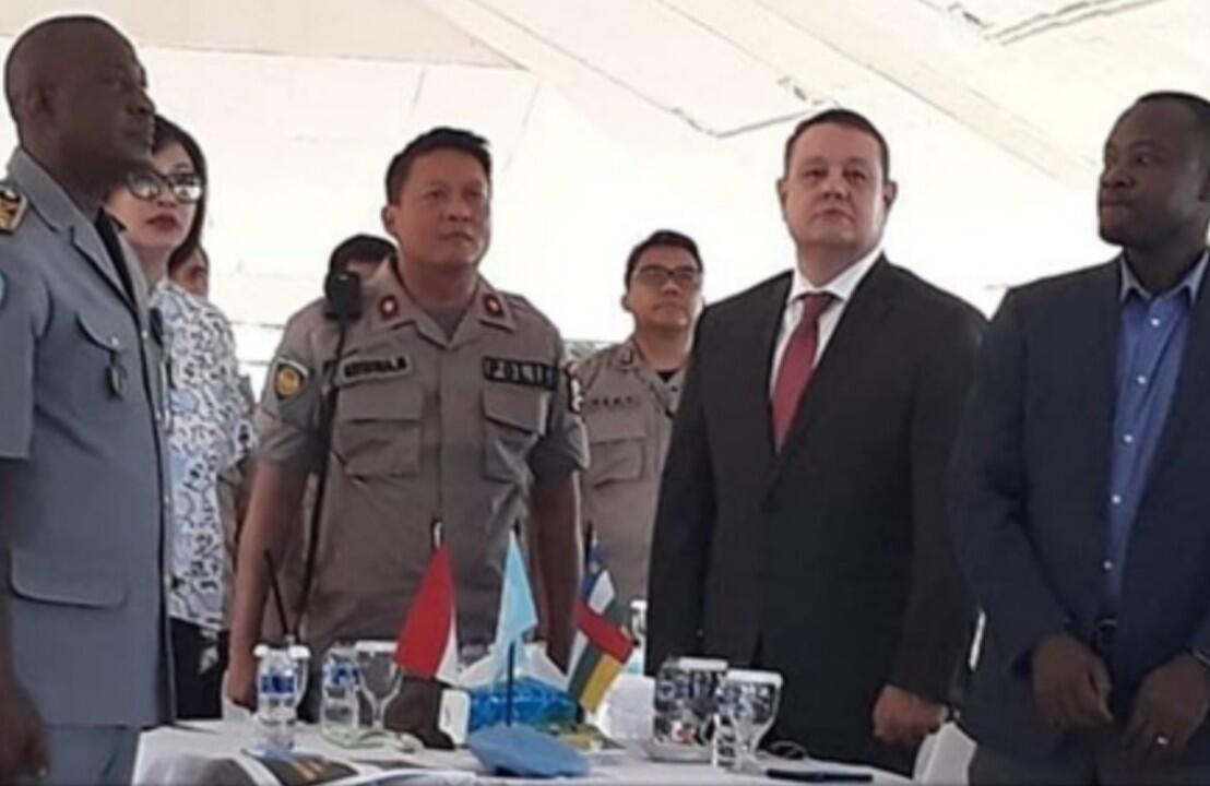 Brigjend Pol Krishna Murti Buka Kegiatan PDV FPU Minusca Polri