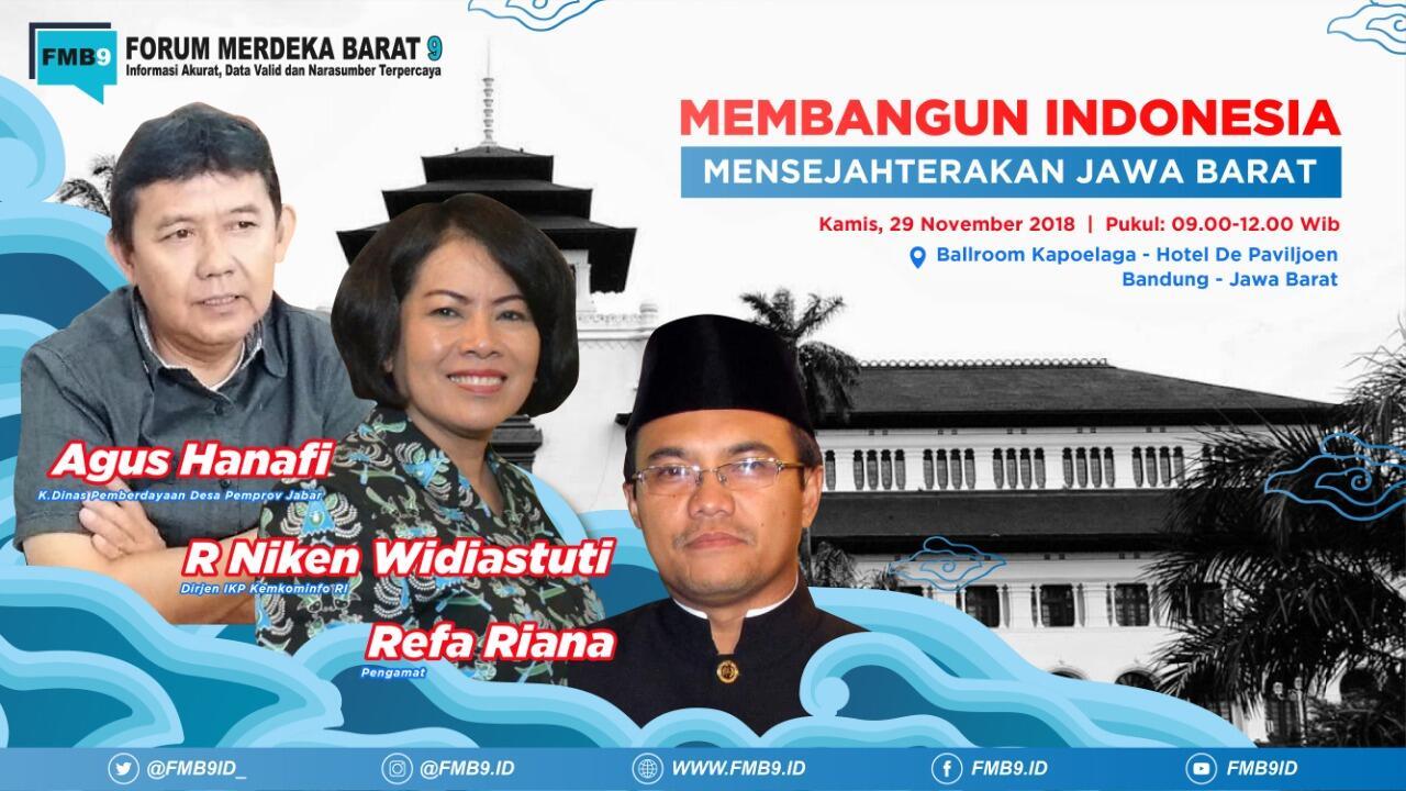 Membangun Indonesia, Menyejahterakan Jawa Barat