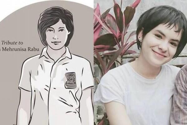 10 Potret Imut Steffi Zamora, Kandidat Pemeran 'Cika' dalam Dilan 1991