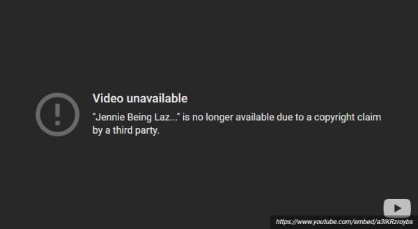 Duh, Semua Video 'Lazy Jennie' BLACKPINK di YouTube Dihapus!