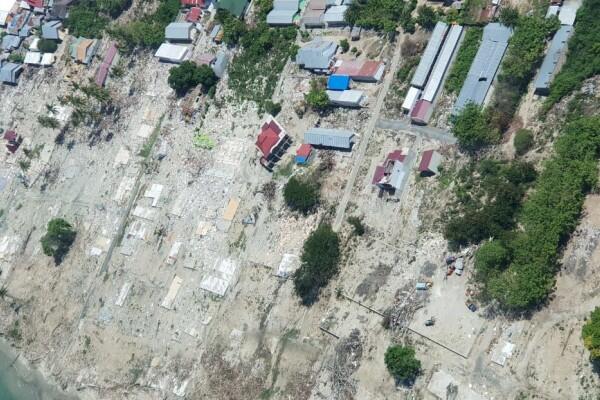 30 Hari Membuat Peta Pasca Bencana Gempa Palu