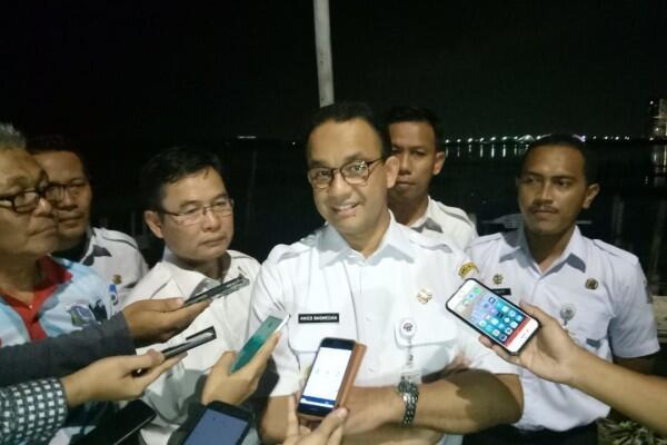 Proyek MRT dan LRT Hampir Rampung, Anies Harap Awal 2019Beroperasi