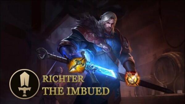 Mengenal Richter, Hero Baru Di AoV yang Punya Kemampuan Unik
