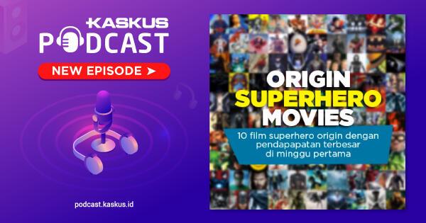 Film Superhero Origin Dengan Pendapatan Terbesar