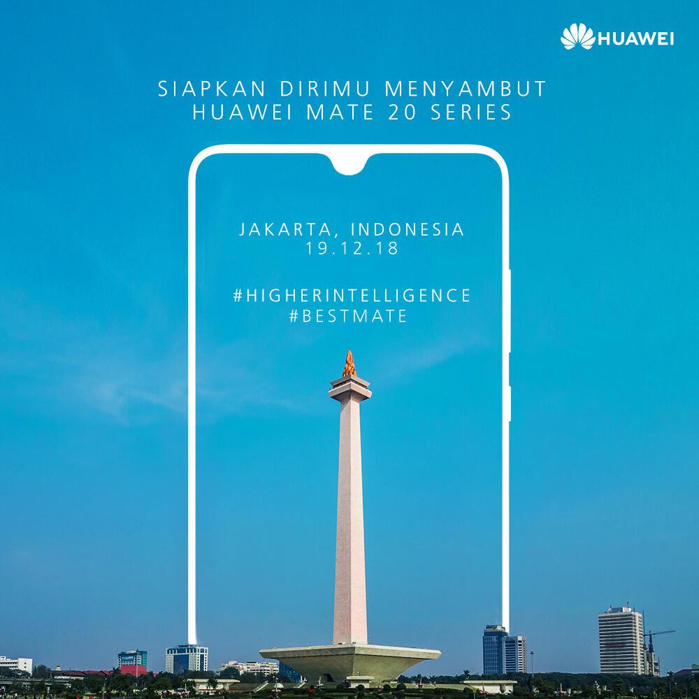 Smartphone Premium Huawei Mate 20 Series Akhirnya Akan Diboyong ke Indonesia