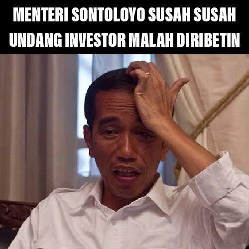 Undang Investasi, Jangan Dipalak Lagi