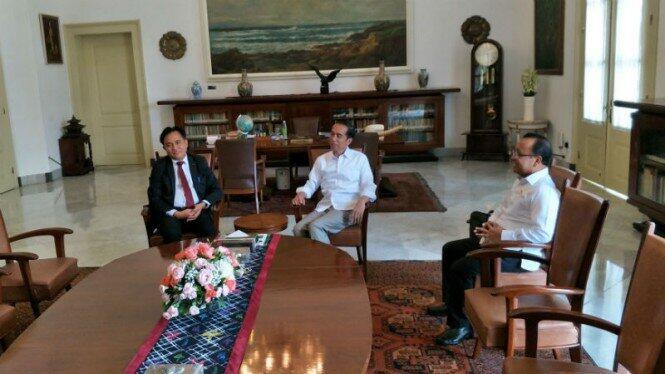 Yusril Datangi Jokowi di Istana Bogor, Bawa Map PBB