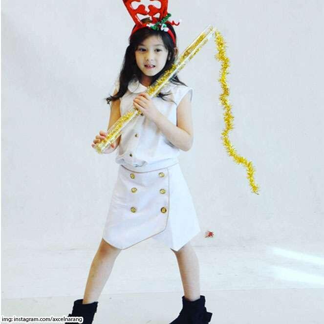 Potret Mikhaela Lee Jowono, Putri Semata Wayang Nafa Urbach Yang Cantiknya Mirip Bule
