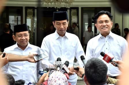 Jokowi dan Yusril Bahas Ketatanegaraan