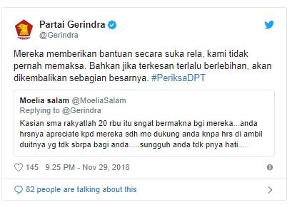 Galang Sumbangan Kampanye, Prabowo-Sandi Sudah Kantongi Lebih dari Rp2 Miliar