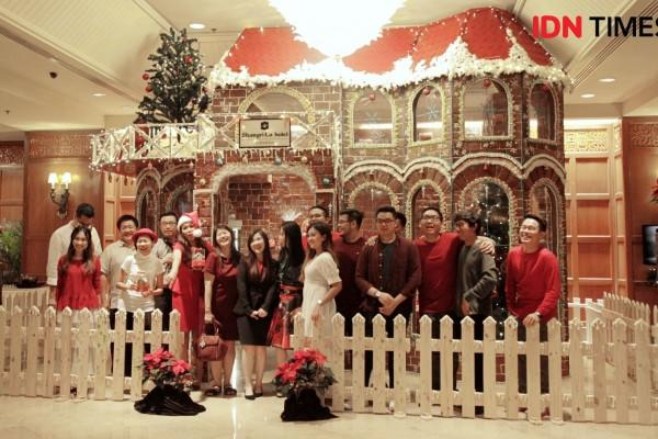 Semarak Natal, Shangri-La Hadirkan Rumah Jahe Raksasa yang Cute Abis!