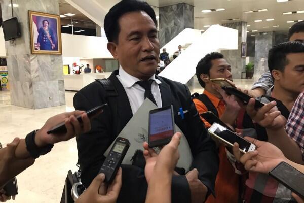 Yusril Ungkap Dukungannya untuk Jokowi di Istana Bogor