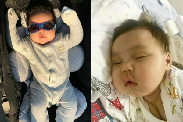 Gemesin, Ini 10 Potret Lucu Baby Geva Anak Sammy Simorangkir