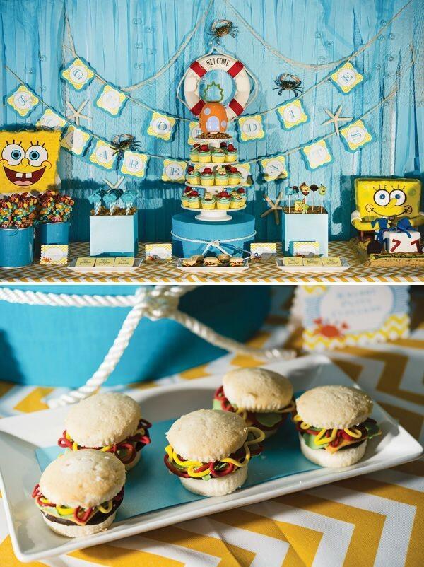 10 Kuliner yang Terinspirasi SpongeBob Squarepants, Gak Tega Makannya