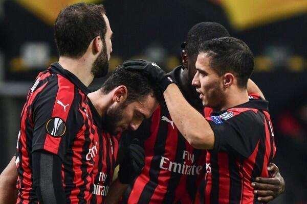 Liga Eropa: Comeback, AC Milan Habisi Dudelange dengan Skor Telak