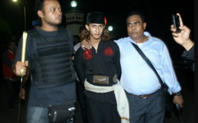 Dai Penghina Jokowi Pernah Ditangkap Bawa Pedang Samurai