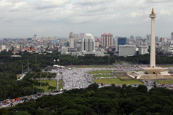Pakar Intelijen: Mayoritas Peserta Reuni 212 Pendukung Prabowo-Sandi