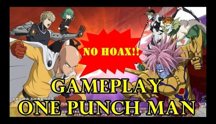 NO HOAX!! GAME ONE PUNCH MAN RILIS ANDROID!!