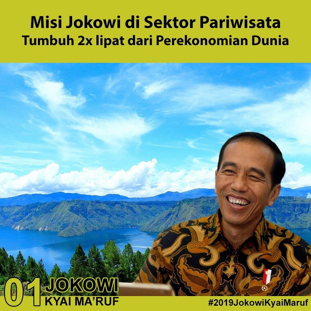 Gebrakan Presiden Jokowi Gairahkan Sektor Pariwisata