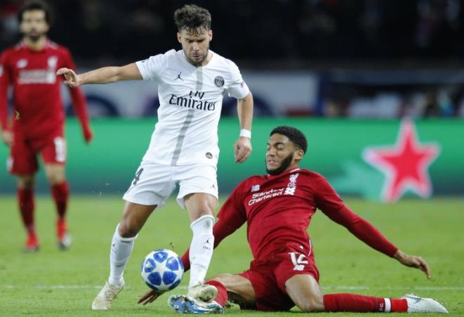 Hasil Liga Champions: PSG 2-1 Liverpool